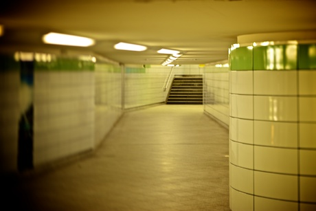 Berlin, Subway Station Straussberger Platz